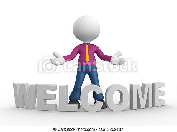 歓迎 - csp13209187