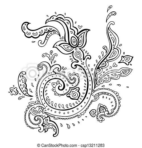 Royal Corner Borders Clip Art 2672 2 moreover Stencil 068 together with 395964992208458689 together with Arabic Henna Designs besides Abstract Flowers With Hummingbird Black 488371. on stencils of paisley design