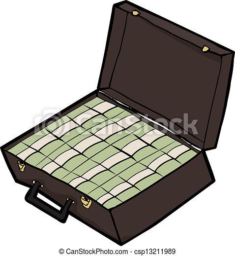 Suitcase of Cash - csp...