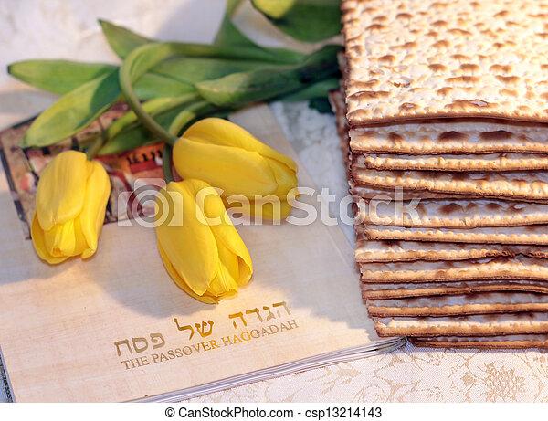 joyful spring festival - jewish holiday of Passover - csp13214143