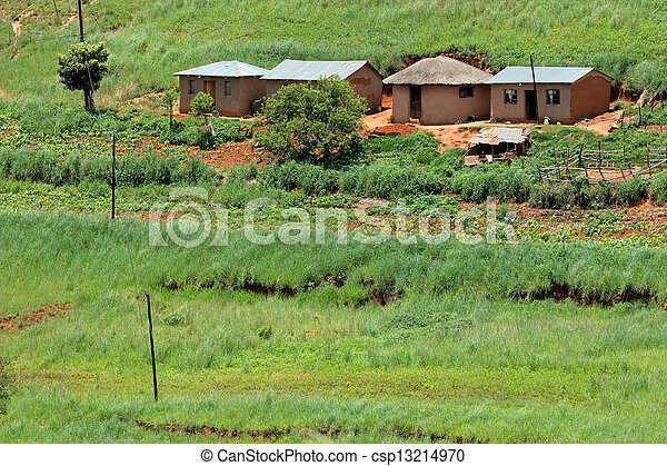 Rural settlement - csp13214970
