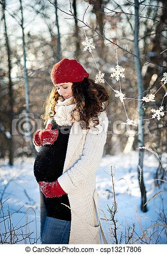 Photographies de grossesse hiver a beau ext rieur for Photo grossesse exterieur hiver