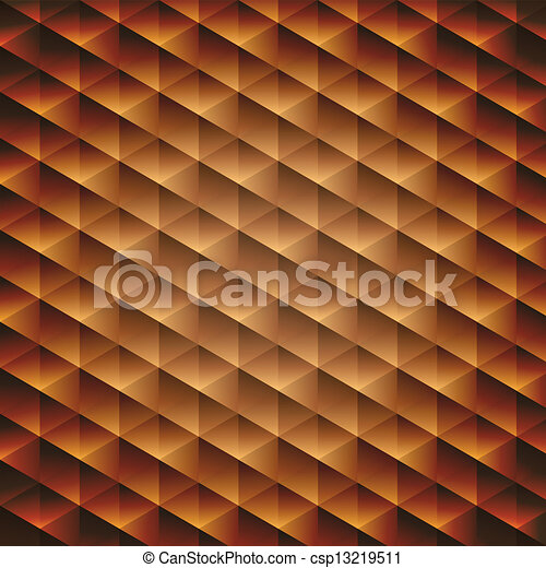 Gold Gradient Vector Gold Gradient Geometric Cubic