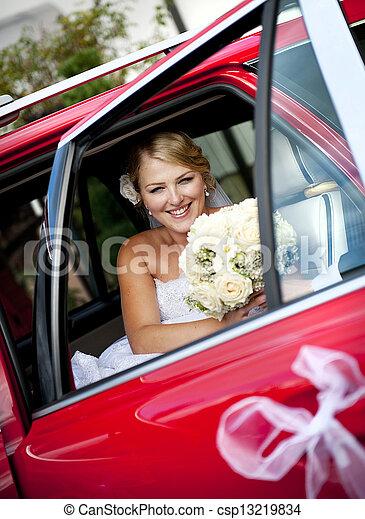 Wedding outdoor portraits - csp13219834