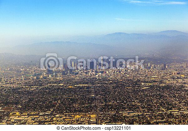 Angeles,  Los, aérien - csp13221101