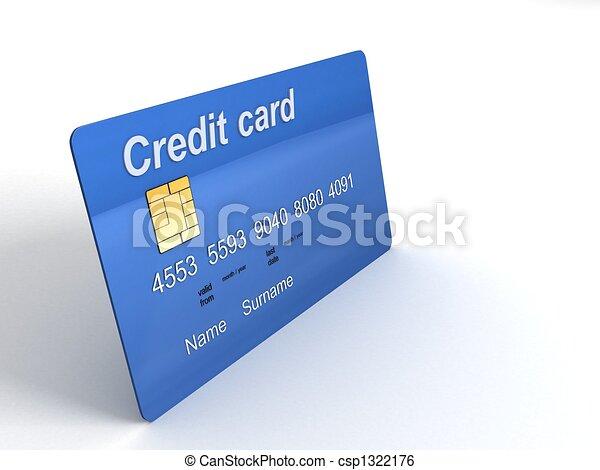 three dimensional credit card - csp1322176