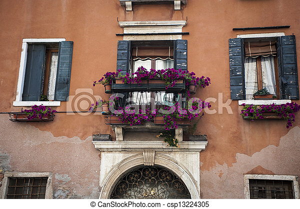 Residential buildings in Venice - csp13224305
