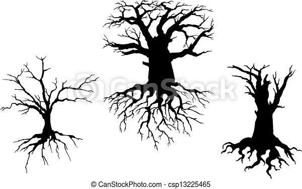 Dead trees Vector Clipart Royalty Free. 2,352 Dead trees clip art ...