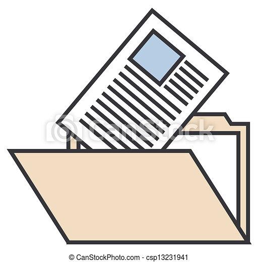 eps vector de carpeta  documentos folder  con folder clip art template folder clipart png