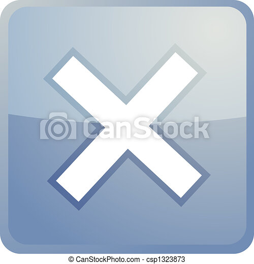 Cancel navigation icon - csp1323873