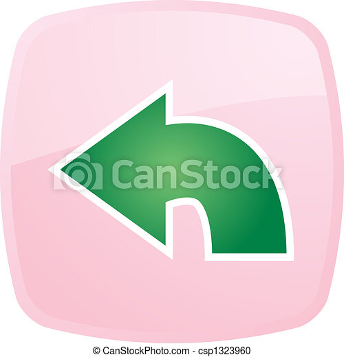 Return navigation icon - csp1323960
