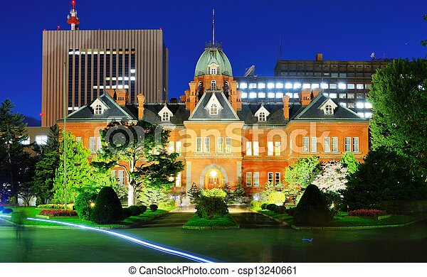 Former Hokkaido Government Office - csp13240661