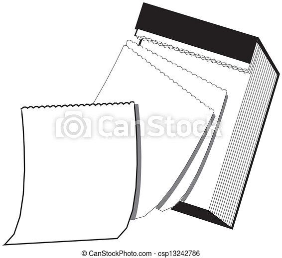 Blank Calendar Clip Art Black And White Wall calendar vector clipart ...