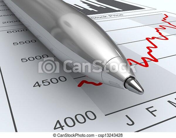 Stock market data - csp13243428