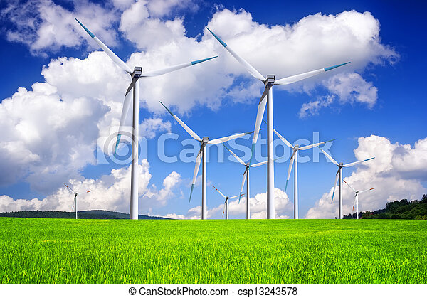 Global wind energy - csp13243578