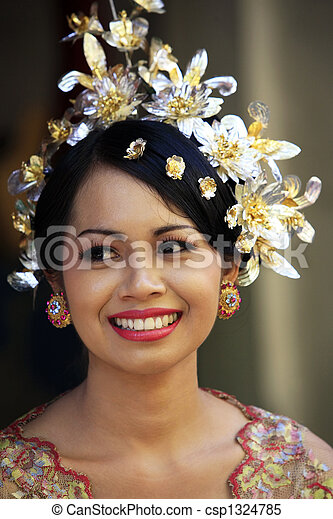Indonesian bride - csp1324785
