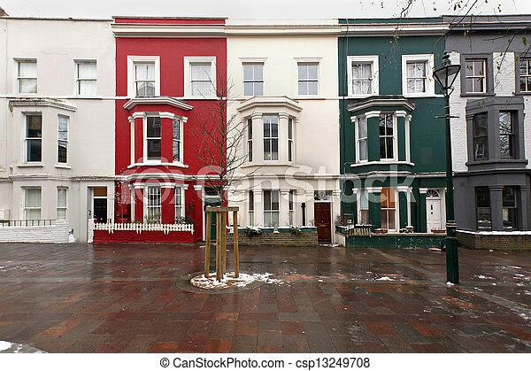 Residential square - csp13249708