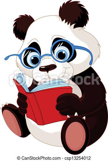 Cute Panda Education - csp13254012