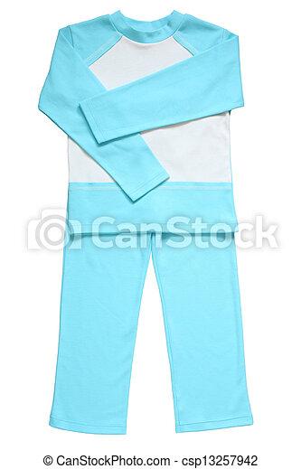 Children's pajamas - csp13257942