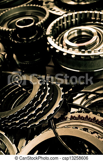 automobile gear assembly - csp13258606