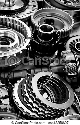 automobile gear assembly - csp13258607