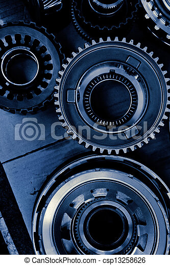 automobile gear assembly - csp13258626