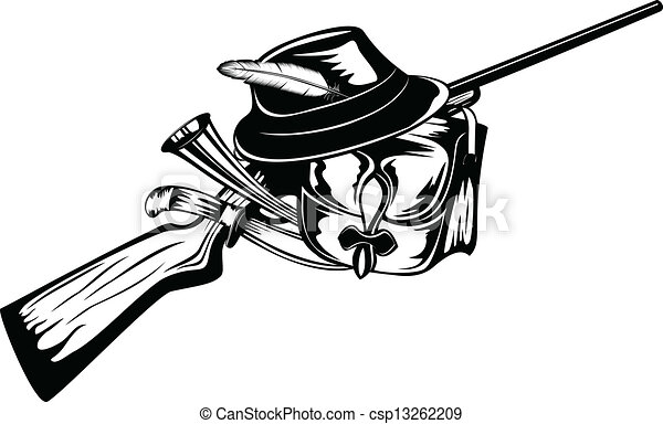 Coloriages Indiens Dam C3 A9rique Du Nord A Colorier furthermore Anello Con Collo Fagiano 2656206 further Bow And Arrow further Fishing Pole Clipart together with Head Artiodactyl And Crossed Guns 10970480. on hunting clip art