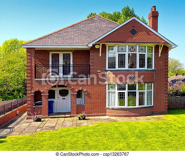 Image de maison typique anglaise typique anglaise for Maison anglaise typique plan