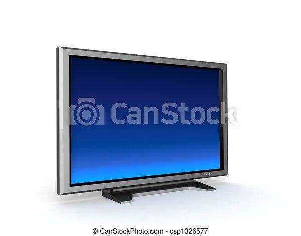 lcd television - csp1326577