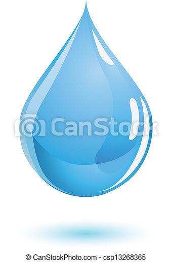 Water drop - csp13268365