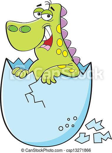 Baby dinosaur Clip Art Vector Graphics. 2,093 Baby dinosaur EPS ...