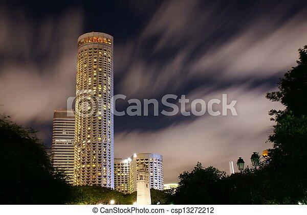 Raffles City, Singapore - csp13272212