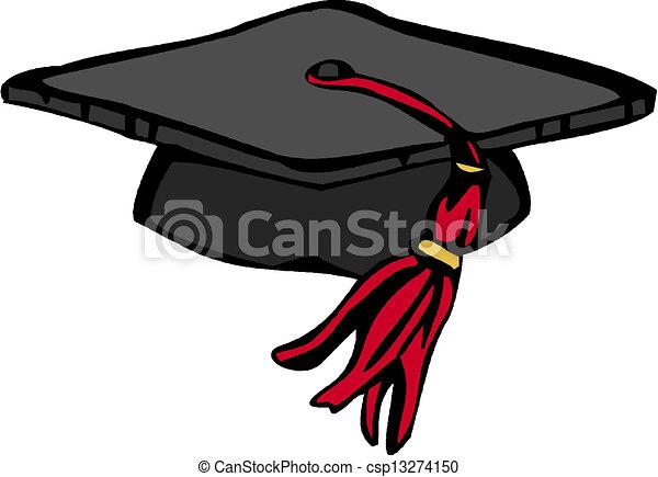 Graduation hat Clipart and Stock Illustrations. 13,073 Graduation ...