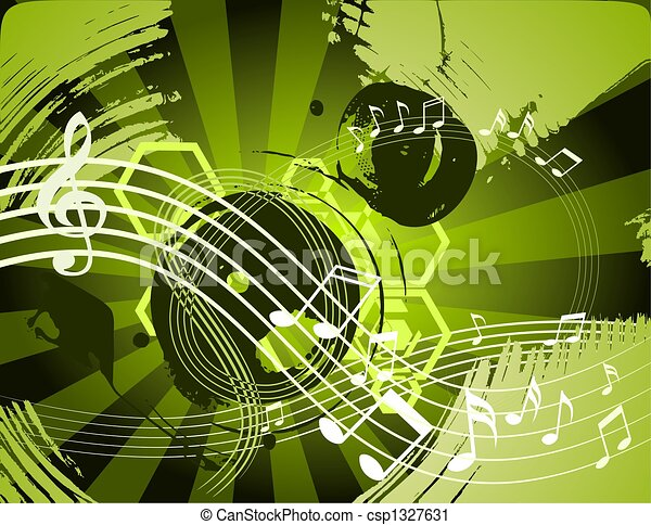 Music abstract background - csp1327631