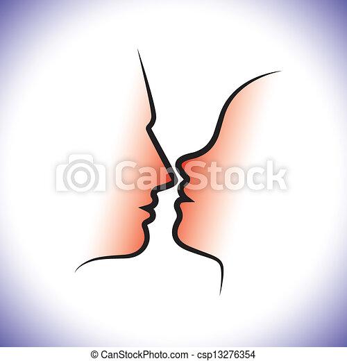 amore, chiudere, partners), &, romanza, altro, fra, donna, sensuality., coppia, lovers(or, paio, uomo, rappresenta, grafico, live-in, moglie, intimità, ciascuno, baciare, intimità, o, marito - csp13276354