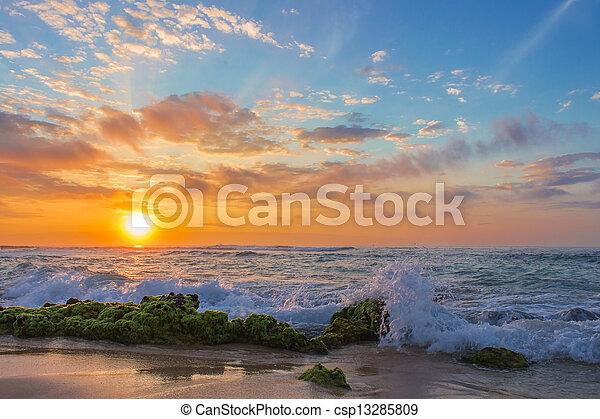Sandy's Sunrise - csp13285809