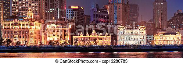Shanghai historic architecture - csp13286785