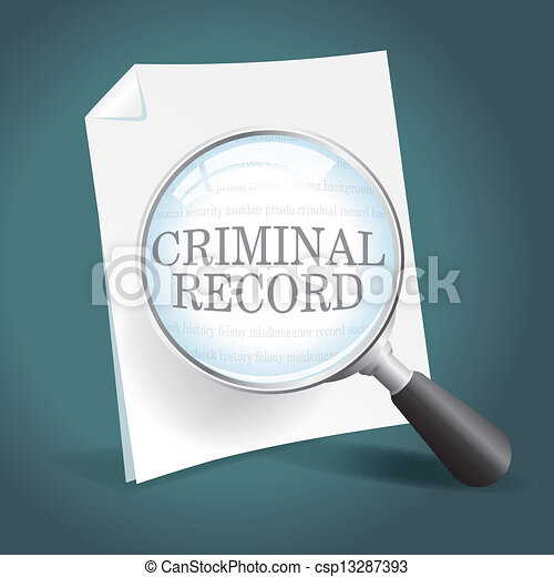 EPS Vectors of Reviewing a Criminal Record - Taking a ...