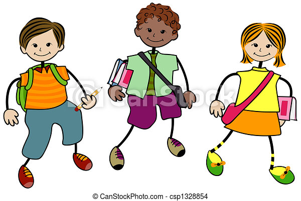 School children Illustrations and Clipart. 62,285 School children ...