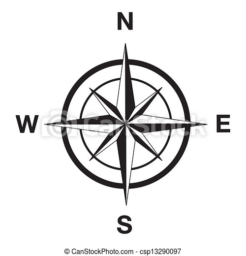 Eps vectors of compass silhouette in black compass for Disegno 3d free