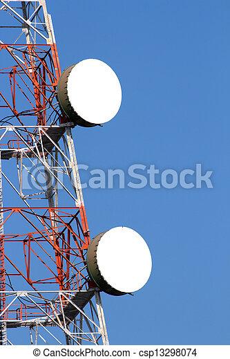 wireless communications tower - csp13298074