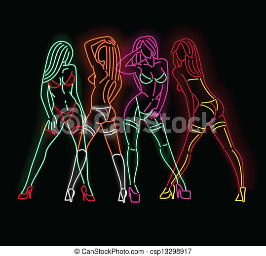 Image Gallery neon graphic art #0: can stock photo csp