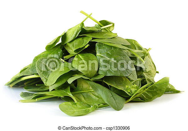 Spinach Leaves - csp1330906
