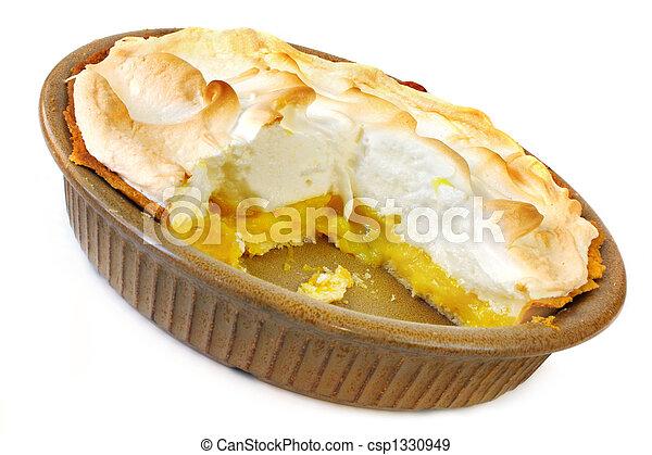 Lemon Meringue Pie - csp1330949