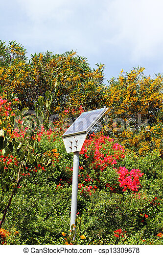Im genes de peque o calle solar panel calle luz y for Panel solar pequeno