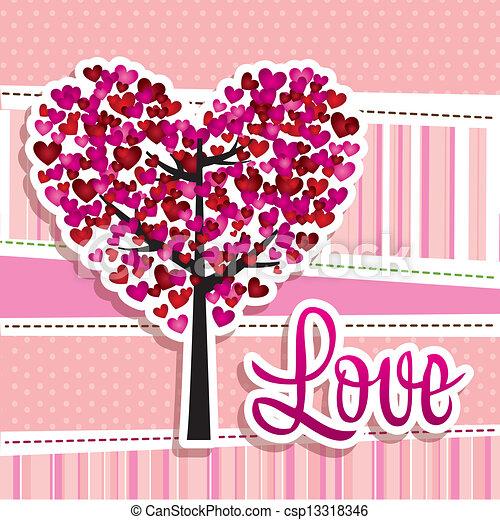 EPS vector de Ilustración, amor - Ilustración, Corazones, amor ...