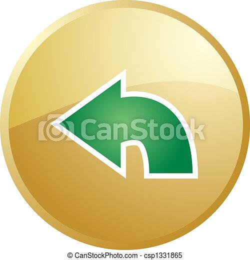 Return navigation icon - csp1331865