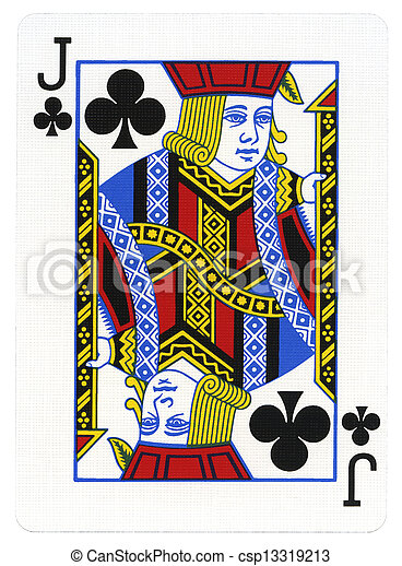 Queen of spades with two black jacks 7
