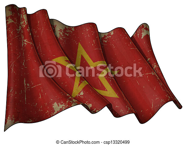 Red Army Historic flag - csp13320499