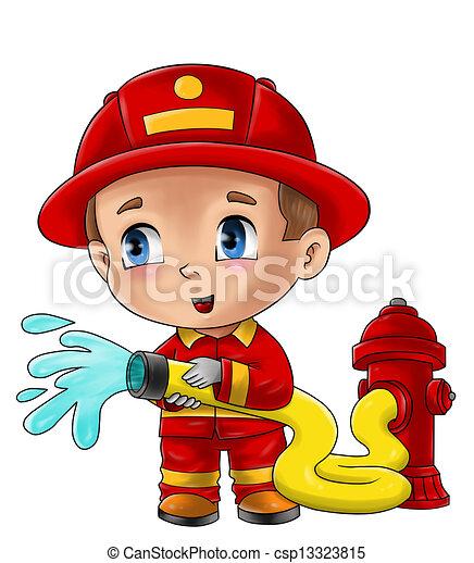Fireman - csp13323815
